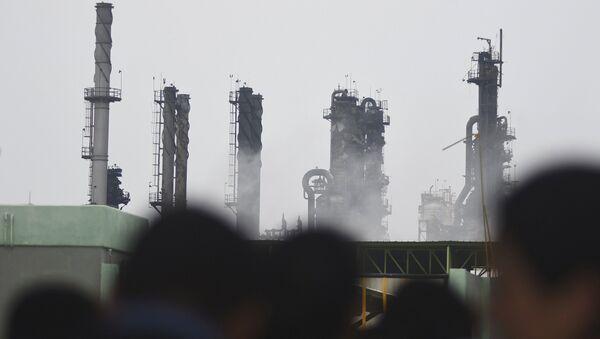 Explosión en la planta petroquímica en México - Sputnik Mundo