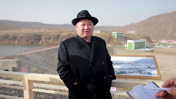 Kim Jong-un, líder norcoreano - Sputnik Mundo