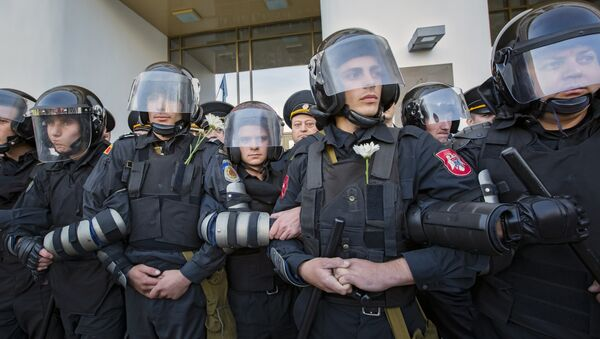 Policía de Moldavia, archivo - Sputnik Mundo