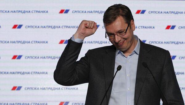 Aleksandar Vucic, primer ministro de Serbia - Sputnik Mundo