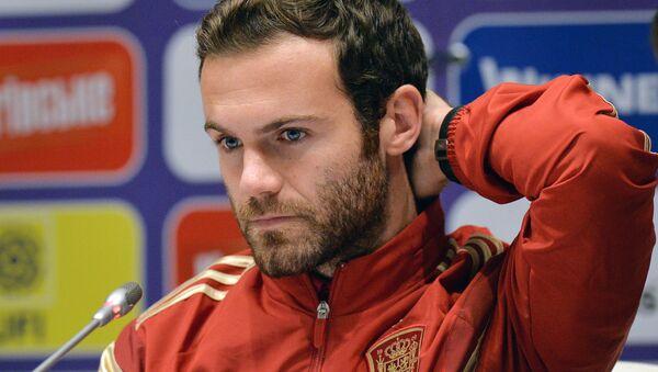 Juan Mata, centrocampista del club inglés Manchester United - Sputnik Mundo