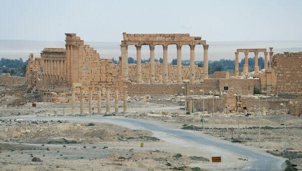 Los monumentos destruidos por Daesh en Palmira - Sputnik Mundo