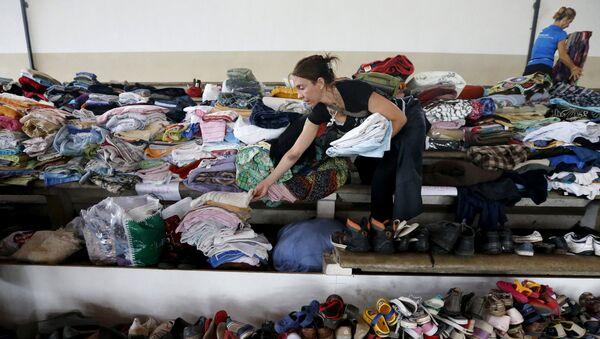 Donaciones para las víctimas de los temporales en Uruguay - Sputnik Mundo