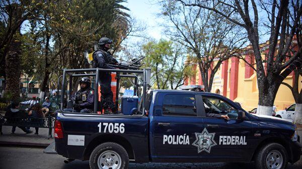 La policía mexicana (archivo) - Sputnik Mundo