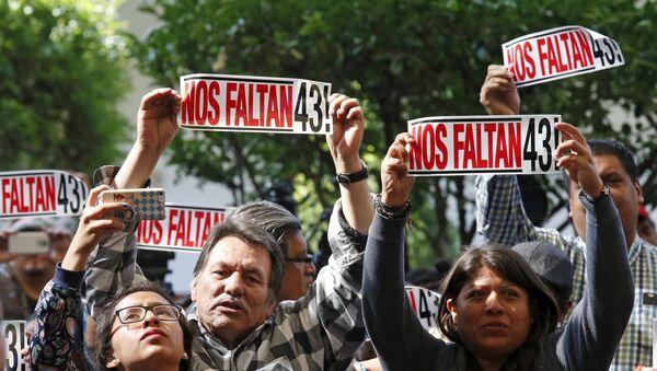 El caso de desaparición forzada de 43 estudiantes en Iguala - Sputnik Mundo