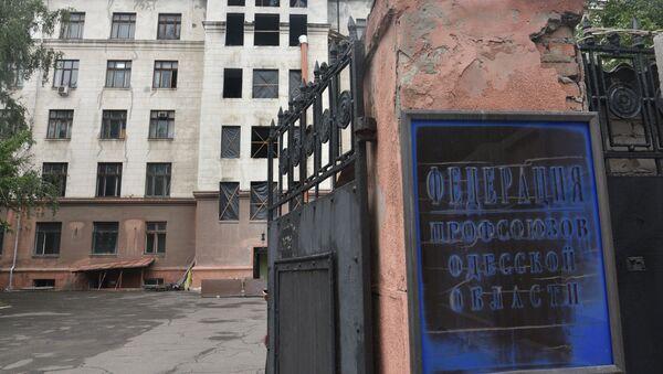 Casa de los Sindicatos en Odesa - Sputnik Mundo