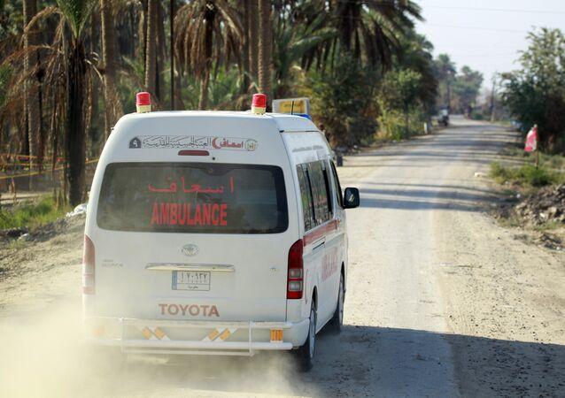 Ambulancia iraquí