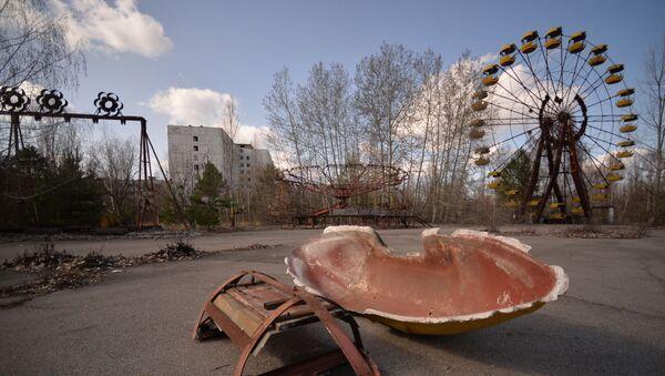La ciudad abandonada de Prípiat en la zona de alienación de Chernóbil - Sputnik Mundo