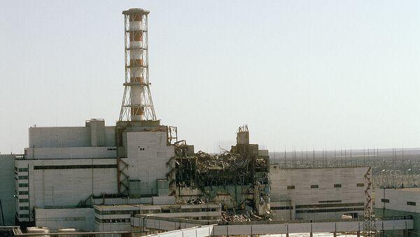 La central nuclear de Chernóbil destruida (Archivo) - Sputnik Mundo