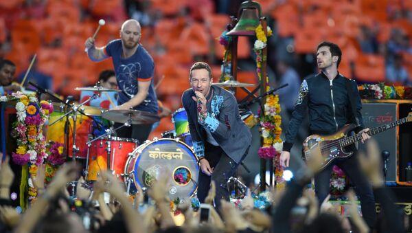Concierto de Coldplay - Sputnik Mundo