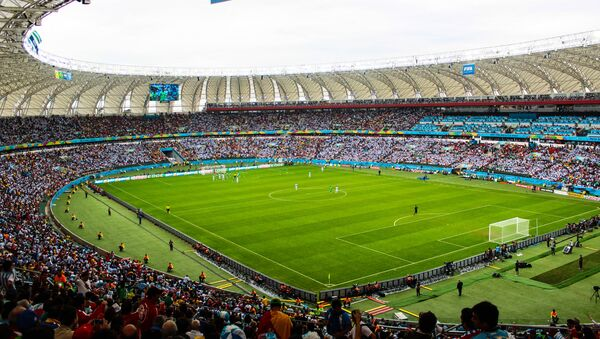 Argentina x Nigeria. Copa Mundial de Fútbol de 2014. - Sputnik Mundo