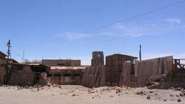 Humberstone, la localidad chilena abandonada - Sputnik Mundo