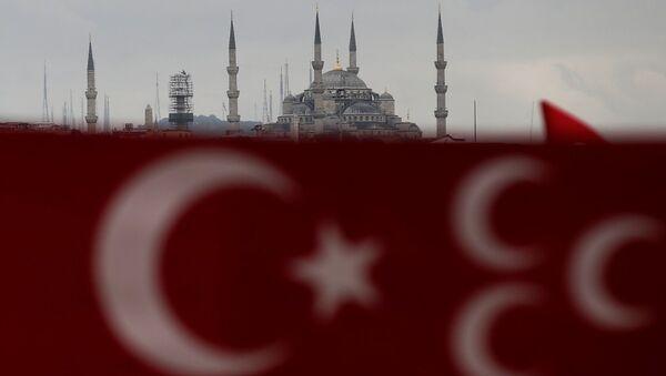 Bandera de Turquía en Estambul - Sputnik Mundo