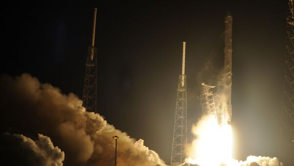 Lanzamiento del cohete SpaceX (archivo) - Sputnik Mundo