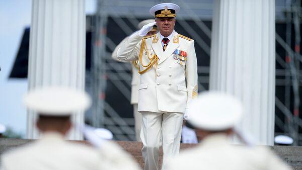 Almirante Alexandr Vitko, comandante de la Flota del mar Negro - Sputnik Mundo
