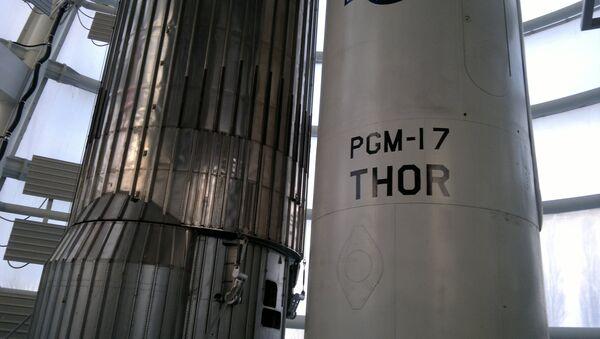 El misil estadounidense, PGM-17 Thor - Sputnik Mundo