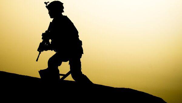 US soldier in Iraq - Sputnik Mundo