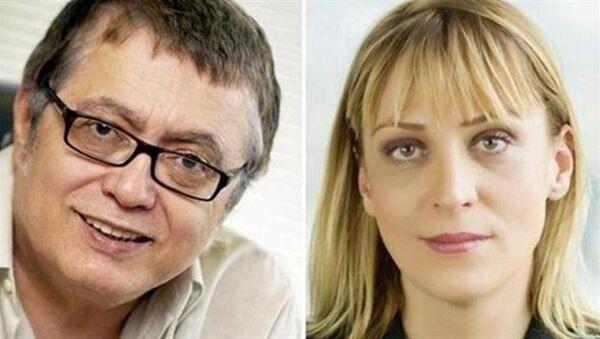 Los periodistas turcos Hikmet Cetinkaya y Ceyda Karan, condenados a 2 años de prisión en Turquía - Sputnik Mundo