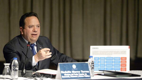 Rodolfo Marco Torres, ministro venezolano de Alimentación - Sputnik Mundo