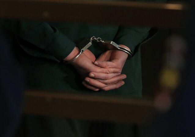 Detención de una persona (archivo)