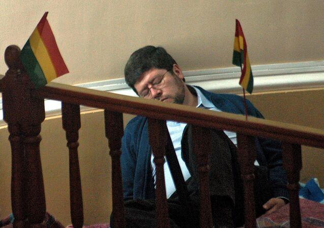 Samuel Doria Medina, líder de la opositora Unidad Nacional de Bolivia