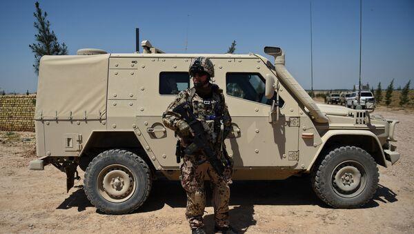 Soldado de Nato en Afganistán - Sputnik Mundo