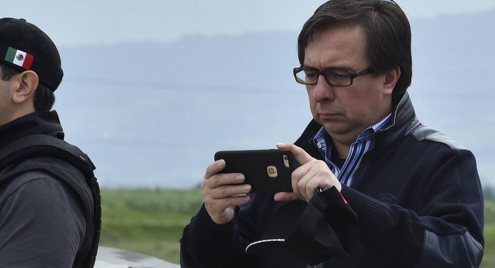 Tomás Zerón, jefe de la Agencia de Investigación Criminal federal