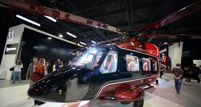 Versión civil del helicóptero Ka-62 del fabricante ruso Kamov.