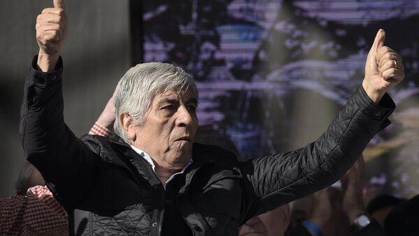 Hugo Moyano, líder de la Confederación General de Trabajadores Azopardo. - Sputnik Mundo
