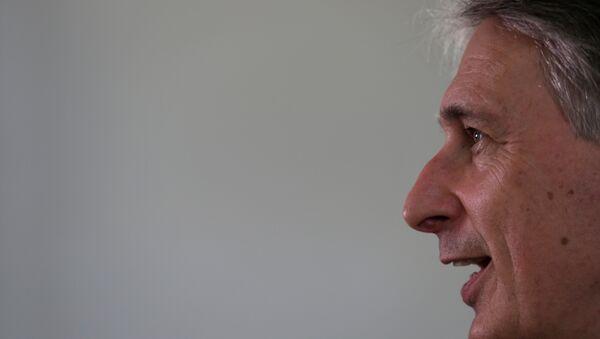 Philip Hammond, canciller de Gran Bretaña - Sputnik Mundo