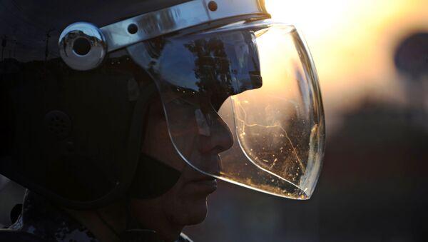Agente de policía hondureña - Sputnik Mundo