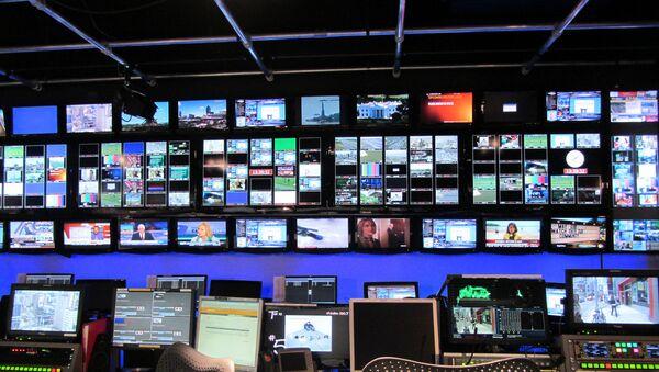 Estudio de televisión - Sputnik Mundo