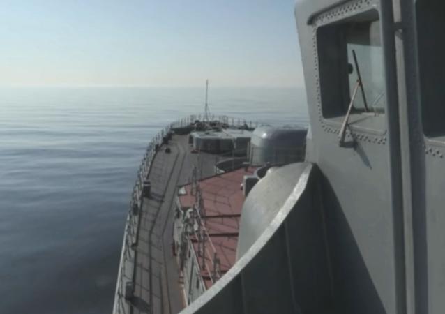 El submarino nuclear 'Severodvinsk'