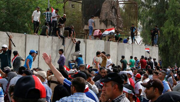 Disturbios en Irak - Sputnik Mundo