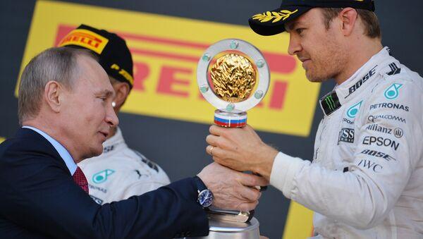 Автоспорт. Формула -1. Гран-при России. Гонка - Sputnik Mundo