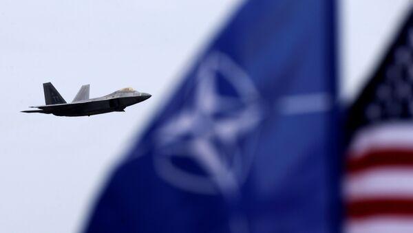 Caza estadounidense F-22 raptor - Sputnik Mundo