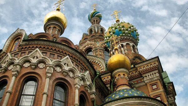 La Iglesia del Salvador sobre la sangre derramada, en San Petersburgo - Sputnik Mundo