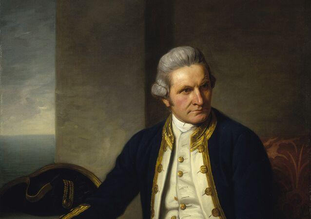 James Cook, el famoso navegante británico