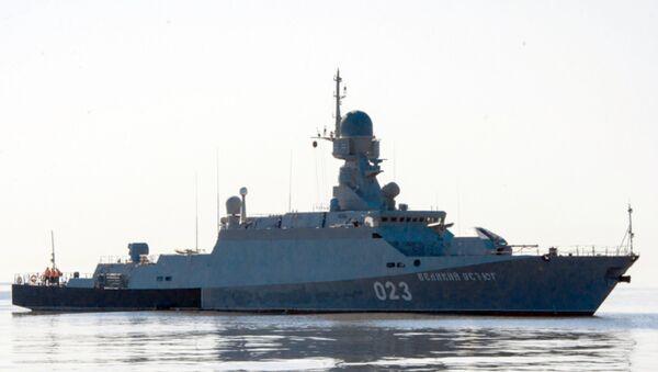 La corbeta portamisiles clase Buyán, la antecesora de la nueva clase Karakurt - Sputnik Mundo