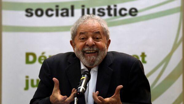 Ex presidente de Brasil Luiz Inacio Lula da Silva - Sputnik Mundo