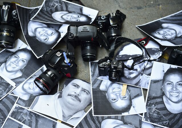 Fotos de periodistas mexicanos asesinados
