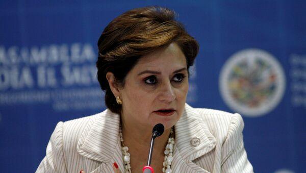 Patricia Espinosa, embajadora mexicana - Sputnik Mundo