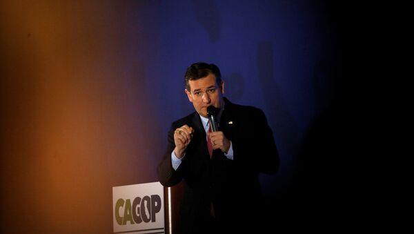 Ted Cruz - Sputnik Mundo