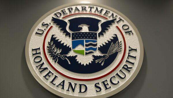 Logo de Departamento de Seguridad Nacional de EEUU (ICE) - Sputnik Mundo