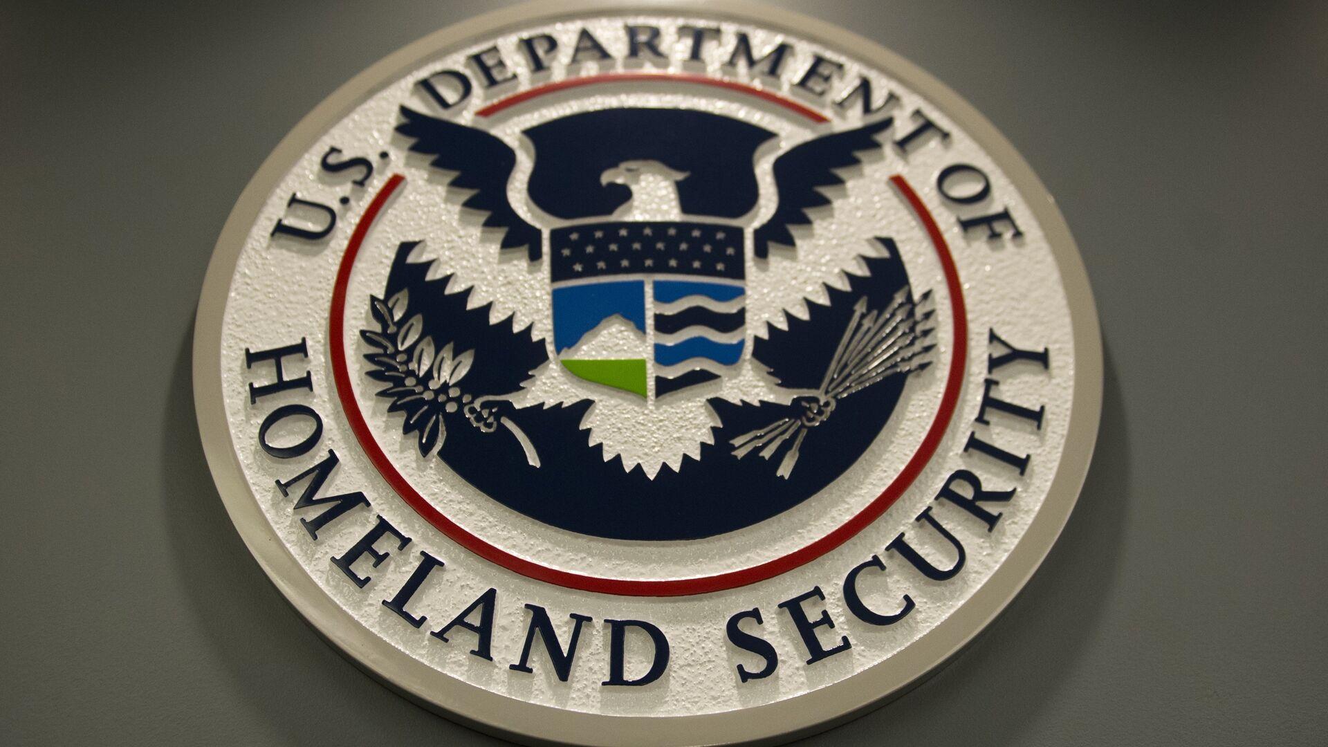 Logo de Departamento de Seguridad Nacional de EEUU (ICE) - Sputnik Mundo, 1920, 25.08.2021