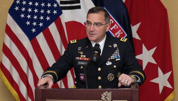 Curtis Scaparrotti, general estadounidense, nuevo comandante en jefe de la OTAN - Sputnik Mundo