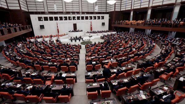El Parlamento de Turquía - Sputnik Mundo