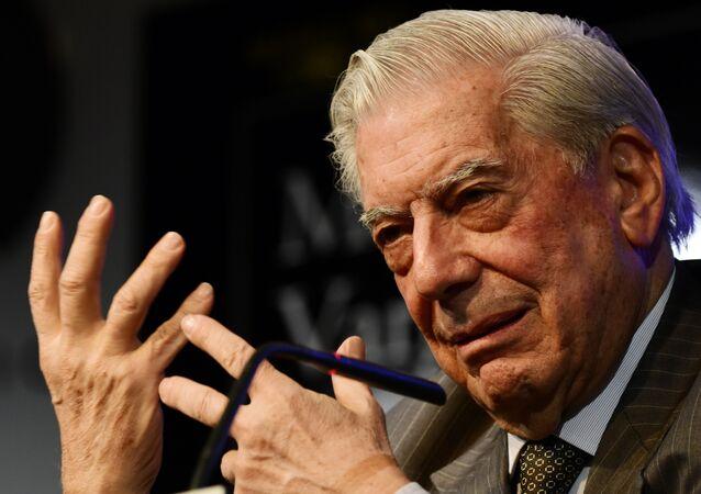 Mario Vargas Llosa, escritor peruano
