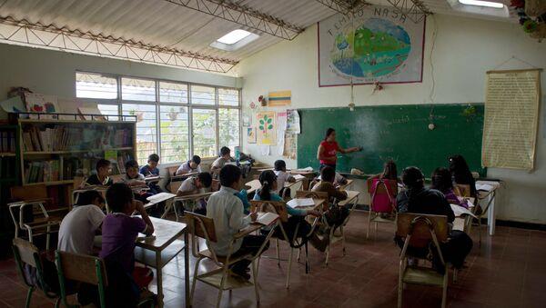 Un colegio en Colombia - Sputnik Mundo