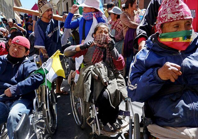 Discapacitados en Bolivia